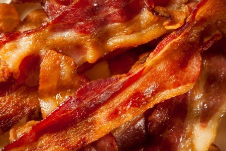 ... have access to a deep fryer and love crispy bacon, try deep frying it