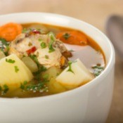 Rosemary Chicken Soup