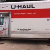What to Expect When Renting a Moving Truck - U-Haul truck