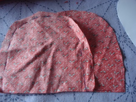 Pot Holders from Shoulder Pads - smaller version  fabric