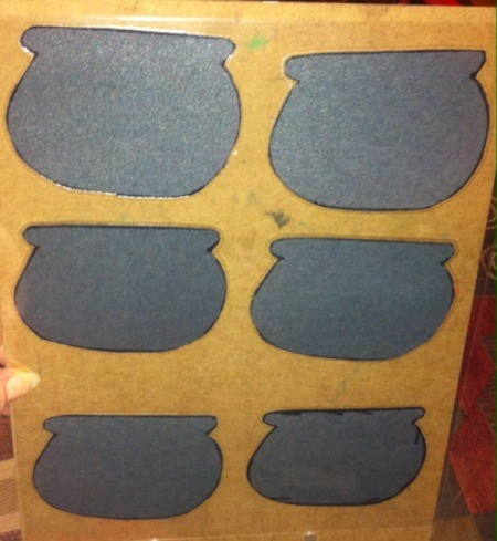Pot of Gold Number Matching - cut out the pots and laminate-