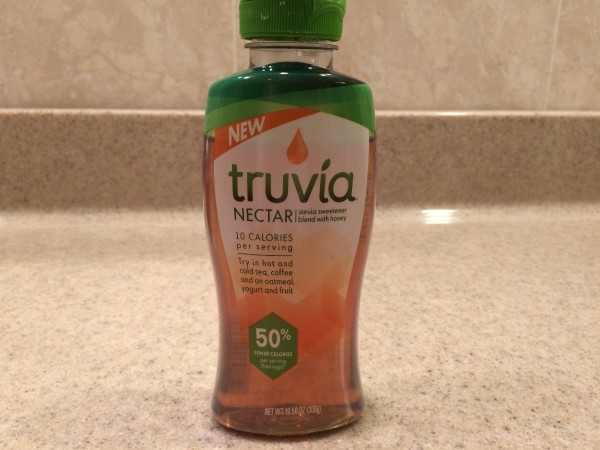 A bottle of Truvia Nectar.