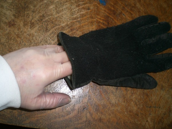 Wear Rubber Gloves Inside Gloves - thin latex type glove being worn inside work gloves