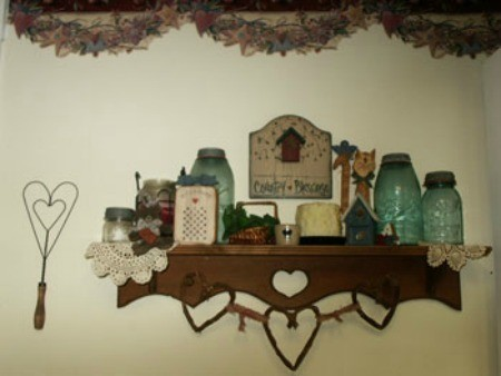 Country Knick Knack Shelf