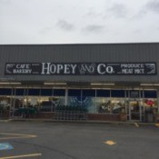 "A salvage store called ""Hopey and Co."""