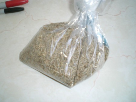 Grow Grass Hair for Project or Pets - bag of rye seeds