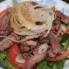Steak Salad on plate