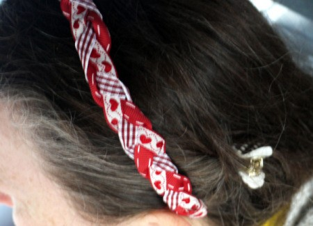 Revamp an Old Headband with Ribbon - ready to wear