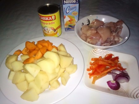 Chicken Ala King ingredients