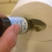 Essential Oils to Freshen the Bathroom - adding a drop to the TP paper tube