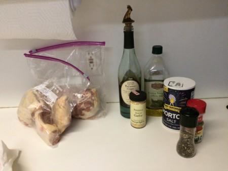 Balsamic Chicken ingredients