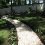Making An Easy Garden Path