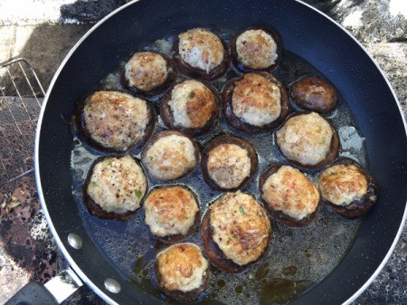 Ground Turkey Stuffed cooking stuffed mushrooms