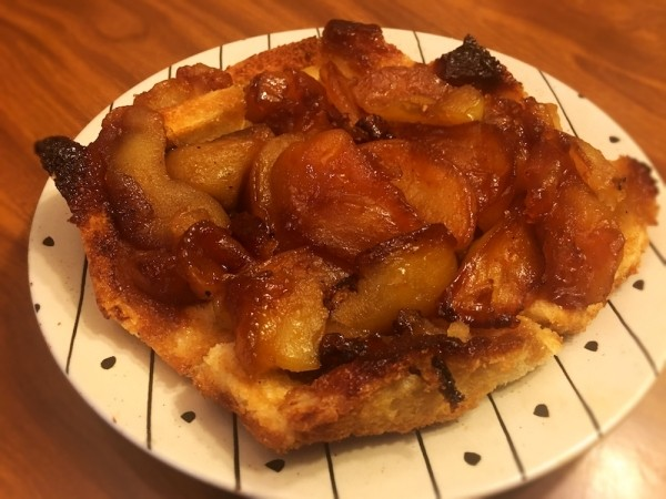 One Pan Apple Charlotte