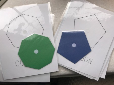 Hands-on Interactive Learning Shapes - laminated shapes