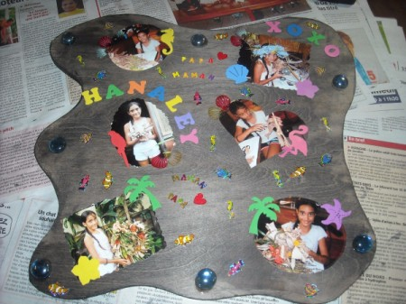 Scrapbook Photo Plaques