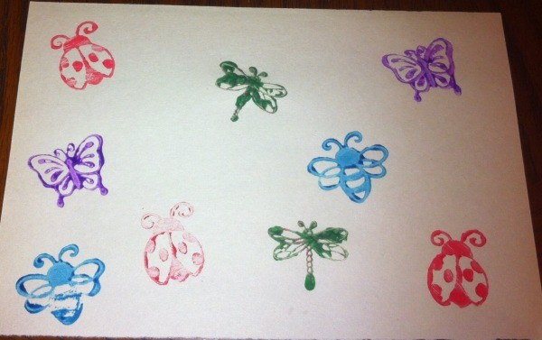 Insect Stamping Activities
