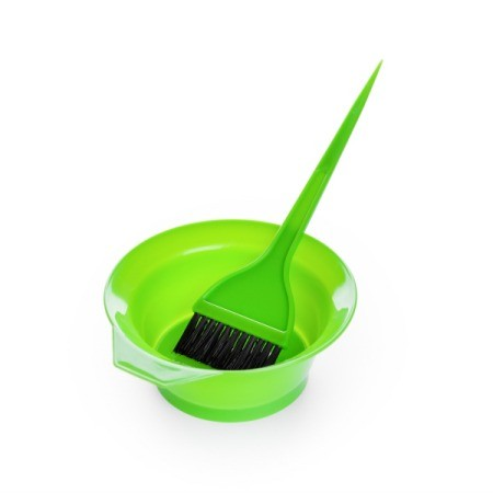Hair Dye Brush and Container