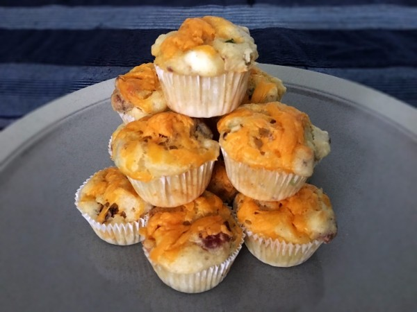 Loaded Baked Potato Mini Muffins