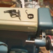 Replacing a Spring on a Wards Sewing Machine