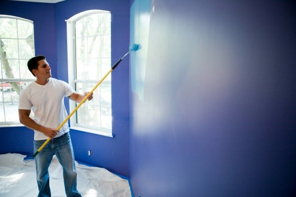 Painting A Room Two Colors Thriftyfun