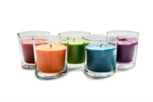 Rainbow of Candles