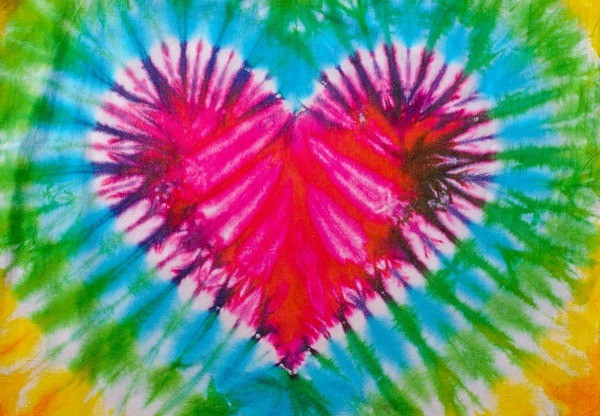 Personalizing a tie dyed t shirt thriftyfun for Types of tie dye shirts