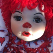 dentifying a Porcelain Clown Doll