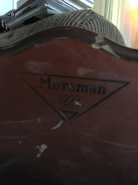 Value of Mersman Table #7223