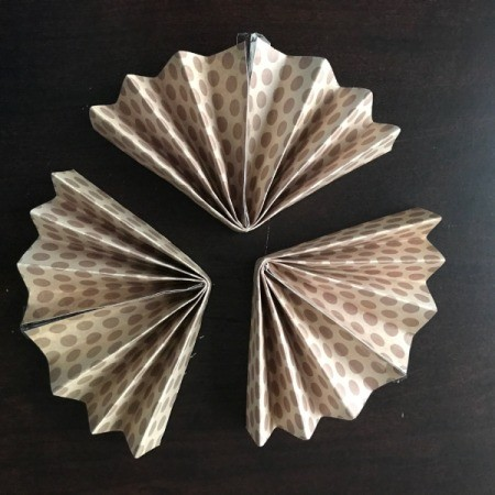 Pinwheel Wall Decor/Backdrop for Photos - all three with center seam glued or taped