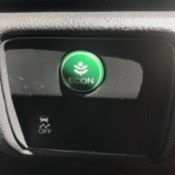 Drive on Econ Mode to Save Gas - green Econ mode button