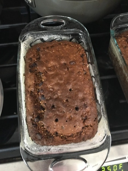 finished banana bread