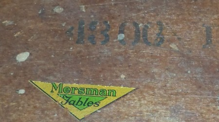 Value of a Mersman 4300 Hall Table