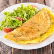 A healthy omelet.