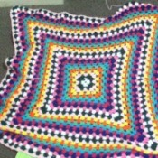 Crocheted Granny