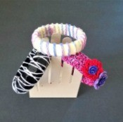 A Bevy of Crochet Bangles - three finished blankets