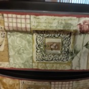 Finding Discontinued Wallpaper Border #5815140 - rose, musical notes, etc. on border