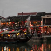 The ancient city of Hoi An, in Vietnam.