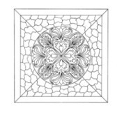 Mosaic Tile Mandala Adult -