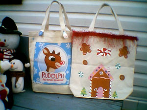 Christmas Purses - Instructions