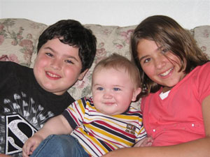 Three Grandchildren