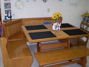 Country Sunflower Table