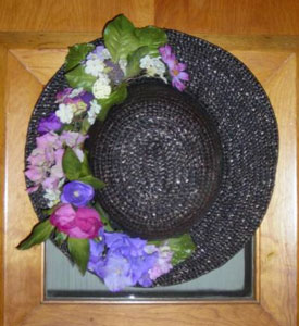 Mother's Day Flowered Hat