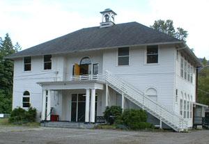 Trafton, WA Schoolhouse