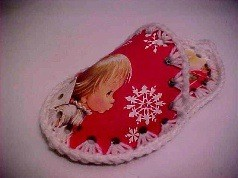 Christmas Cards Slipper
