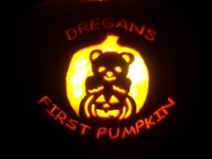 Dregan's First Pumpkin