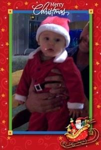 Little Santa In Training