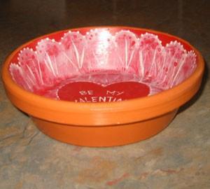 Valentine Candy Dish