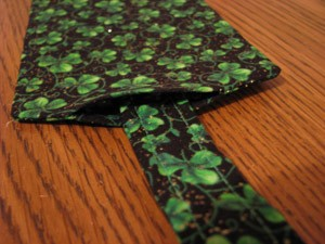 Craft Project: Fabric Luggage Tag