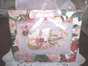 Craft Project: Recycled Valentine's Gift Bag